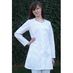 Sukienka medyczna SARA biała