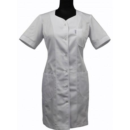 Sukienka medyczna NELA biała