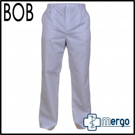 Spodnie męskie BOB na gumie elanobawełna