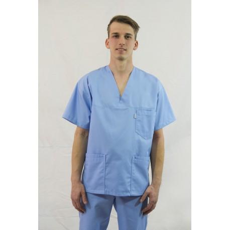 Bluza medyczna JAN kolorowa z elanobawełny