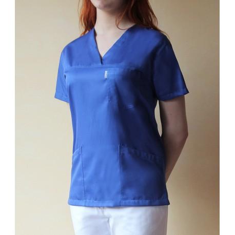 Bluza medyczna ZYTA kolorowa z elanobawełny